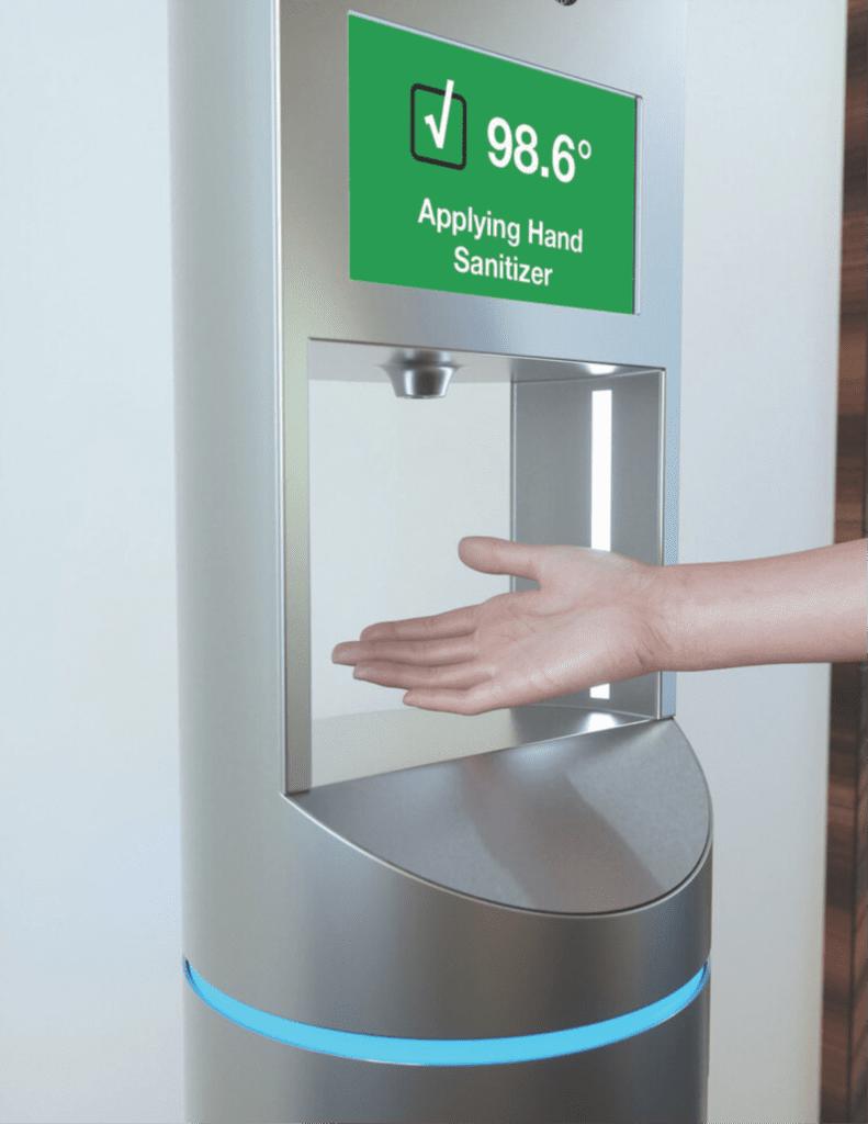 Temperature Screening/Hand Sanitizer