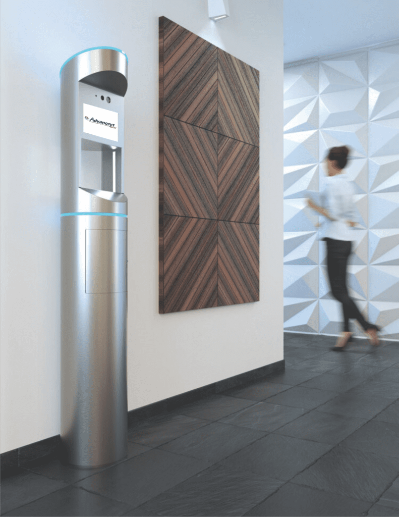 Health Screening Kiosk & Motoring Solutions for COIVD - 19, Coronavirus, & other illnesses – Sentry Safety Station